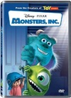 Monsters Inc. (DVD) Cover
