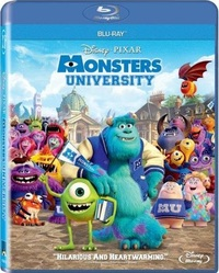 Monsters University (Blu-ray) - Cover