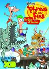 Phineas And Ferb: The Daze Of Summer (DVD) Cover