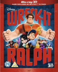 Wreck-It Ralph (3D Blu-ray) - Cover