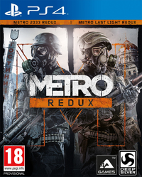 Metro: Complete Redux (PS4) - Cover