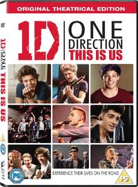 One Direction: This Is Us (DVD) - Cover