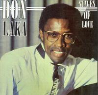 Don Laka - Stages of Love (CD) - Cover