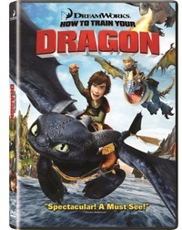 How To Train Your Dragon (DVD) - Cover