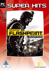 Operation Flashpoint 2: Dragon Rising (PC) - Cover