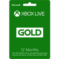Xbox Live 12 Month Gold Card + Redeem for R200 Gift Card Ends 31 Jan 2017 - See T&Cs (Xbox 360 / Xbox One)