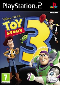 Toy Story 3 (PS2) - Cover