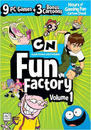 Cartoon Network: Fun Factory 1 (PC) - Cover