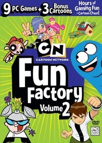 Cartoon Network: Fun Factory 2 (PC) - Cover