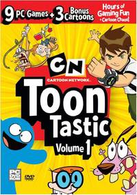 Cartoon Network: Toon Tastic 1 (PC) - Cover