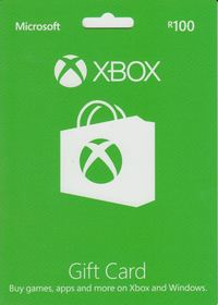 Xbox Live R100 Gift Card (Xbox 360 / Xbox One) - Cover