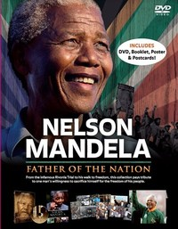 """Nelson Mandela """"Father of the Nation"""" (DVD + Book) - Cover"""