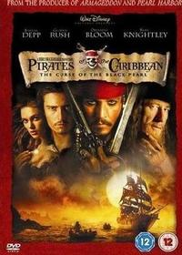 Pirates of the Caribbean: The Curse of the Black Pearl (Blu-ray) - Cover