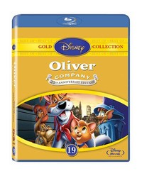 Oliver & Company (Blu-ray) - Cover