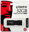 Kingston DataTraveler DT100 G3 USB 3.0 Flash Drive 32GB