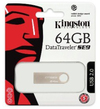 Kingston DTI USB 2.0 64GB USB 2.0 DataTraveler SE9 - Metal Casing USB Flash Drive