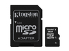 Kingston 8GB MicroSDHC Class 4 Flash Card (with Adapter)