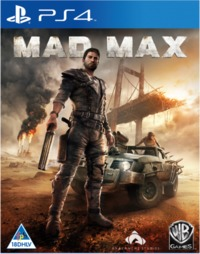 Mad Max (PS4) - Cover