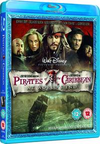 Pirates of the Caribbean: At World's End (Blu-ray) - Cover