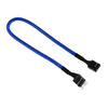 BitFenix Alchemy Multisleeved (1) Cable - 10pin audio 30cm Extension Cable (from Case Control Panel to MB) - Blue