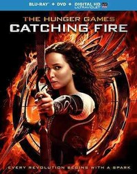 Hunger Games:Catching Fire (Region A Blu-ray) - Cover