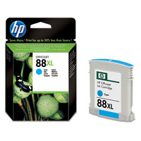 HP # 88 Large Cyan Ink Cartridge - Cover