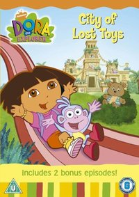Dora The Explorer - City Of Lost Toys (DVD) - Cover