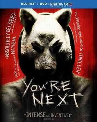 You're Next (Region A Blu-ray) - Cover