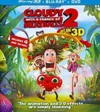 Cloudy With A Chance of Meatballs 2 3 (Region A Blu-ray)