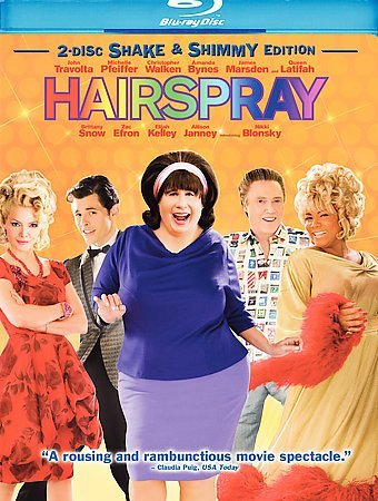 Hairspray 2007 Region A Blu Ray