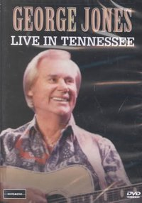 George Jones - Live In Tennessee (Region 1 DVD) - Cover