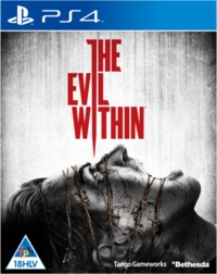 The Evil Within (PS4) - Cover