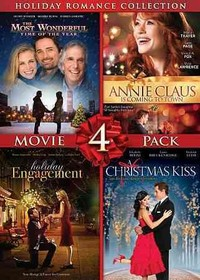 Holiday Romance Collection: Movie 4 Pack (Region 1 DVD) - Cover