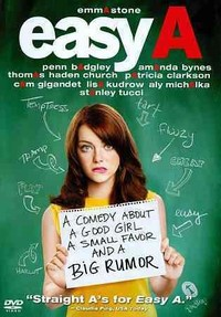 Easy a (Region 1 DVD) - Cover