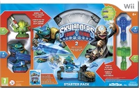Skylanders Trap Team: Starter Pack (Wii) - Cover