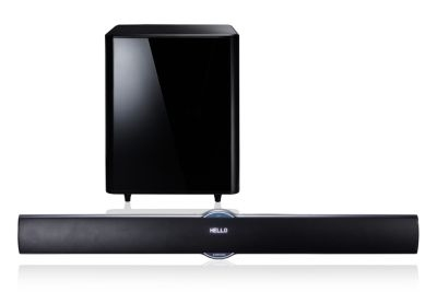Samsung Smart Sound Bar 2 1 Channels Blu Ray Player Built In