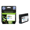 HP No 951XL Cyan Officejet Ink Cartridge