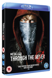 Metallica: Through the Never (Blu-ray) - Cover