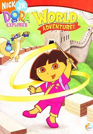 Dora The Explorer World Adventure Region 1 Dvd Movies Tv