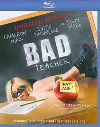 Bad Teacher (Region A Blu-ray) - Cover