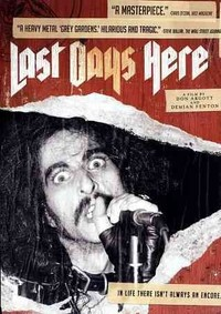 Last Days Here (Region 1 DVD) - Cover