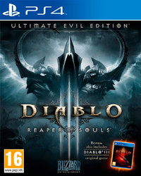 Diablo III: Reaper of Souls (PS4) - Cover