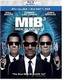 Men In Black 3 3D (Region A Blu-ray) - Cover