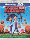 Cloudy With a Chance of Meatballs 3D (Region A Blu-ray)