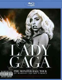Lady Gaga - Monster Ball Tour At Madison Square Garden (Region A Blu-ray) - Cover