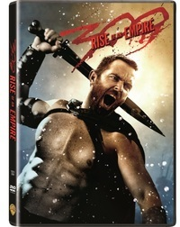 300: Rise of an Empire (DVD) - Cover