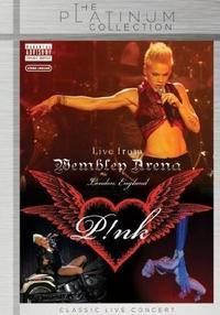 Pink - Live At Wembley Arena (DVD) - Cover