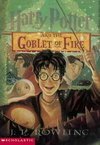 Harry Potter and the Goblet of Fire - J. K. Rowling (Paperback) Cover