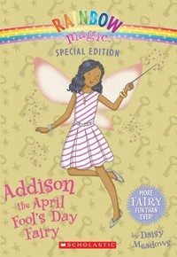 Addison the April Fool's Day Fairy - Daisy Meadows (Paperback) - Cover