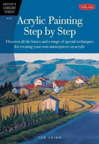 Acrylic Painting Step By Step (Al45) (Paperback) - Cover